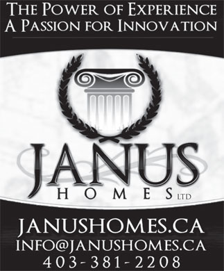 Janus Homes Ltd (403-381-2208) - Display Ad - ltd