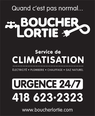 Boucher Lortie (581-317-0240) - Display Ad